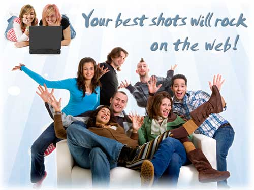 Your Best Shots will rock in the web!